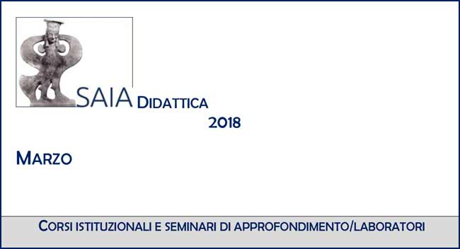 Calendario Di Marzo.Saia Didattica Calendario Di Marzo 2018